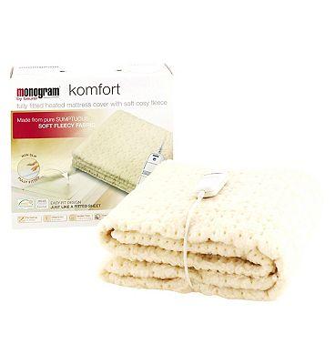 Monogram by Beurer Komfort Heated Mattress Cover  Single