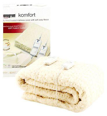 Monogram by Beurer Komfort Heated Mattress Cover  DoubleDual