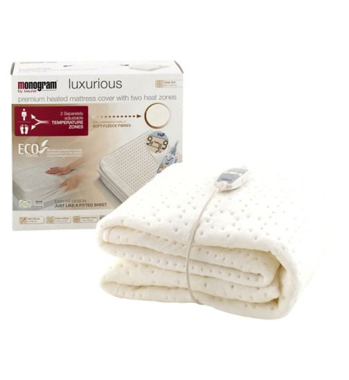 Monogram by Beurer Luxurious Heated Mattress Cover - Single