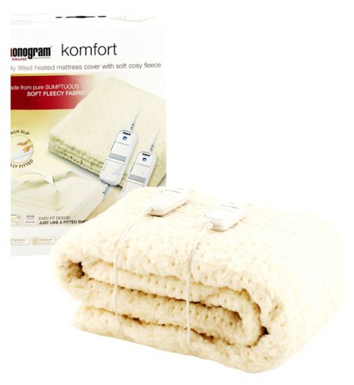 Monogram by Beurer Komfort Heated Mattress Cover-Super King Size/Dual