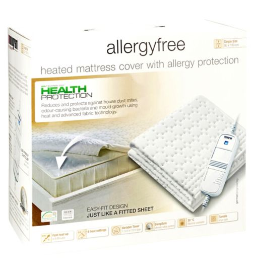 Monogram by Beurer Allergyfree Heated Mattress Cover-Single