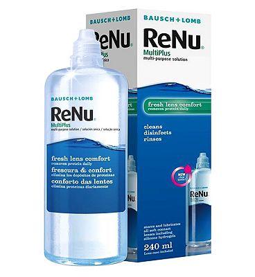 ReNu MultiPlus multi-purpose solution - 240ml