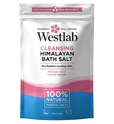 Westlab Pure Mineral Bathing Himalayan Pink Salt 1Kg