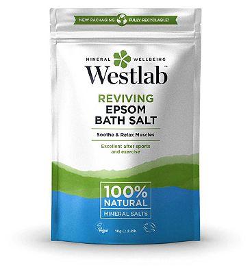 Westlab Pure Mineral Bathing Epsom Salt 1 Kg