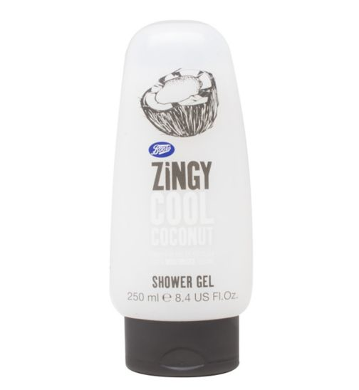 Boots shower gel zingy coconut 250ml
