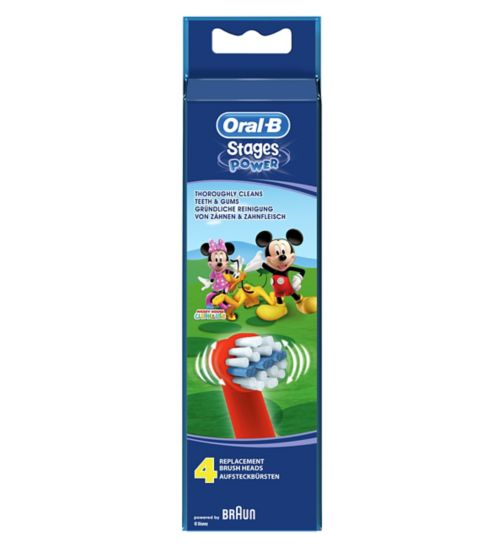 Oral-B Disney Stages Power Toothbrush Heads (4 Pack)