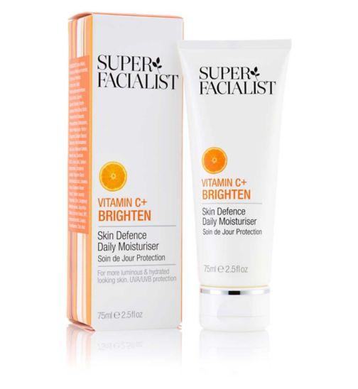 Super Facialist Vitamin C+ Skin Defence Daily Moisturiser 75ml