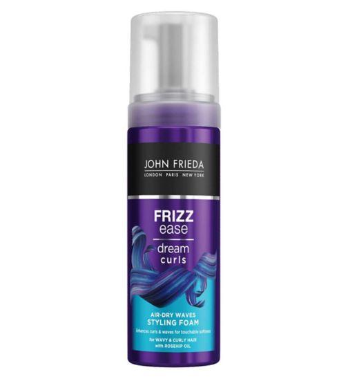 John Frieda Frizz Ease Dream Curls Air-Dry Waves Styling Foam 150ml