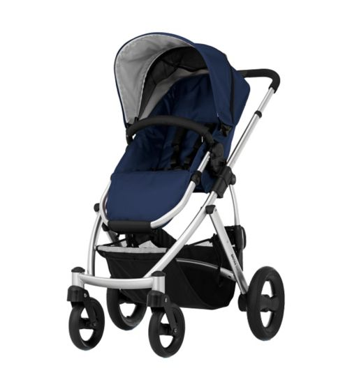 Britax Smile - Navy / Silver Chassis