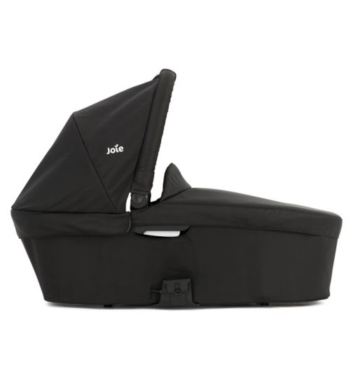 Joie Chrome Plus Carrycot - Black Carbon