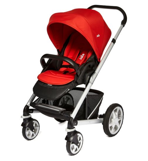 Joie Chrome Plus Colour Pack - Tomato Red