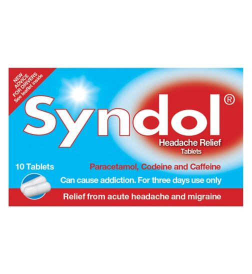 Syndol Headache Relief Tablets - 10 Tablets