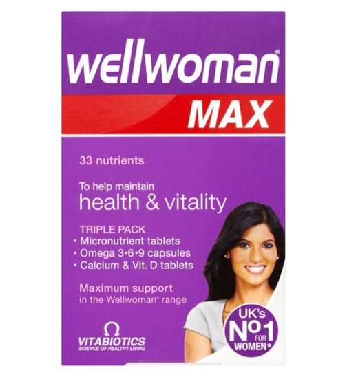 Vitabiotics Wellwoman Max - 84 Tablets