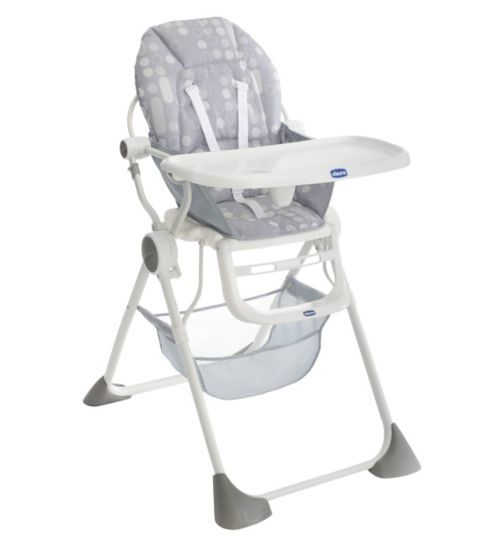 Chicco Pocket Lunch Highchair - Silver