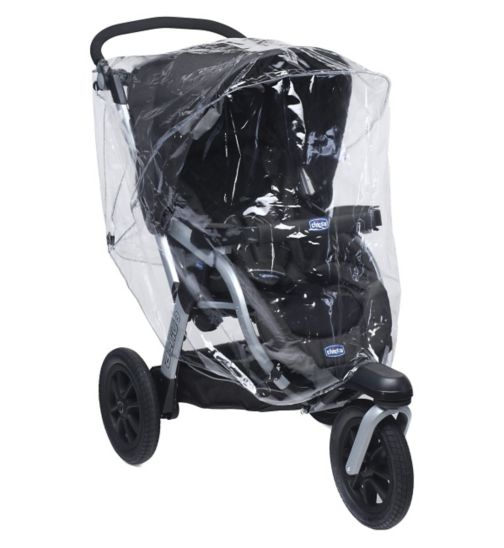 Chicco Rain Cover for 3-Wheel Stroller
