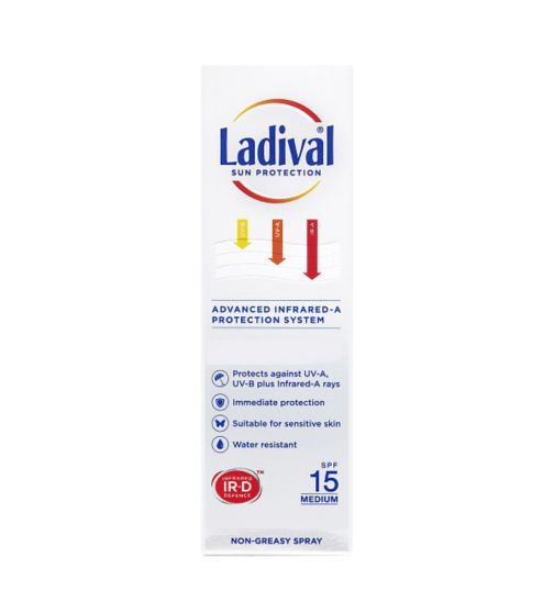 Ladival Sun Protection Spray SPF 15 150ml