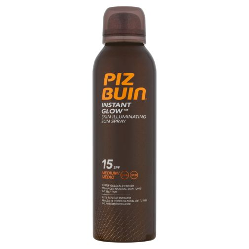 PIZ BUIN® Instant GlowTM Skin Illuminating Sun Spray SPF 15 150ml