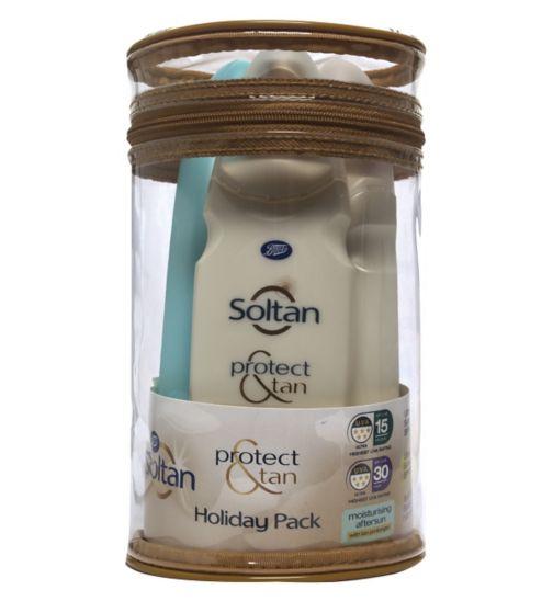 Soltan Protect & Tan Holiday Pack