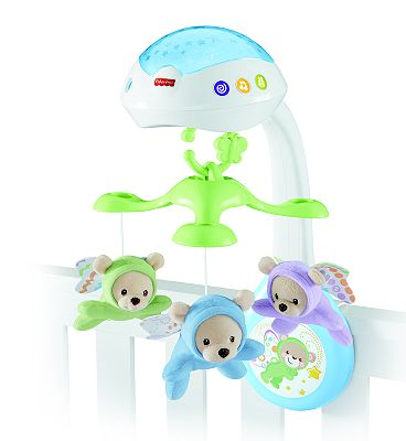 Fisher Price Butterfly Dreams 3-in-1 Projection Mobile
