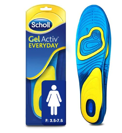 Scholl Gel Everyday Insoles - Women
