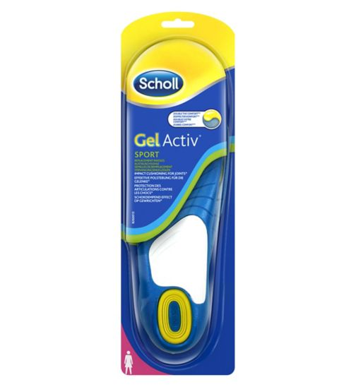 Scholl Gel Sport Insoles - Women