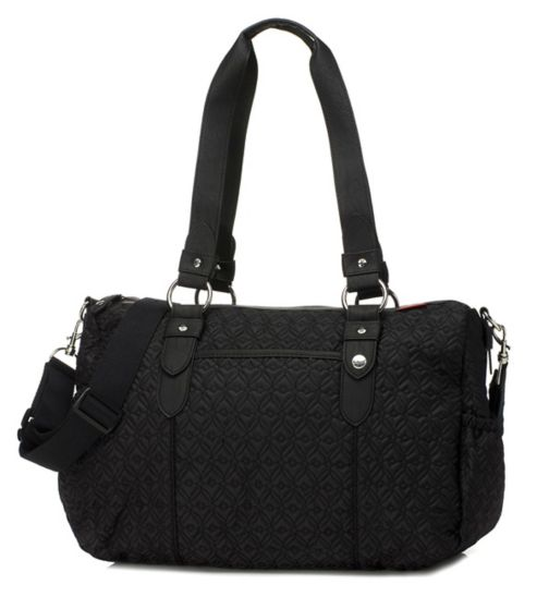 Babymel Ella Quilted Change Bag - Black