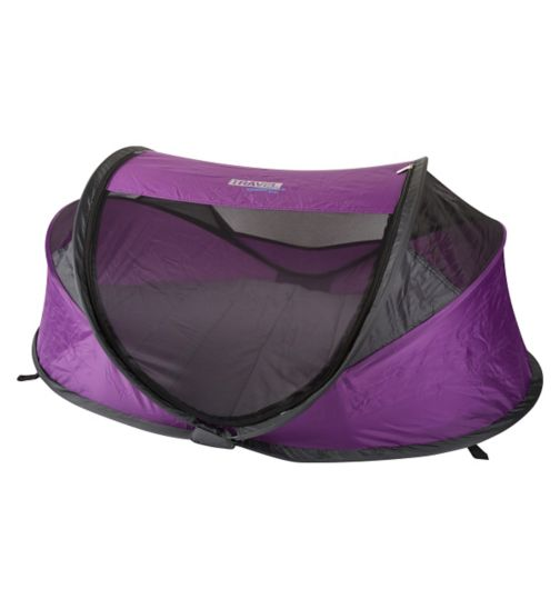 NSA Standard Travel Cot & UV Travel Centre - Purple