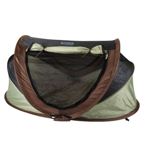 NSA Deluxe Travel Cot & UV Travel Centre - Pistachio