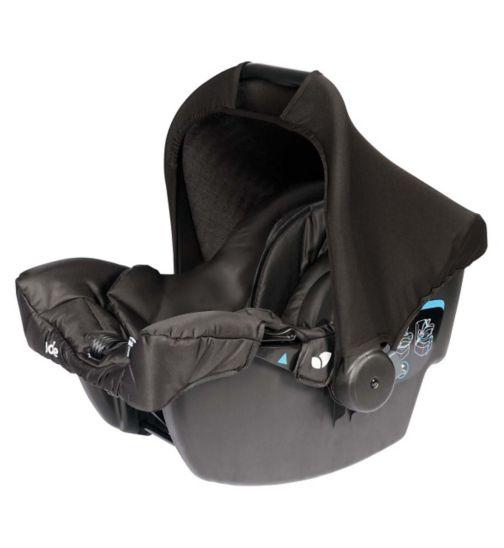 Joie Juva Group 0+ Car Seat - Black Carbon