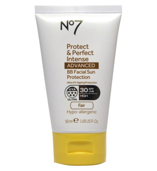 No7 Protect & Perfect Intense ADVANCED BB Facial Sun Protection SPF30 Light 50ml