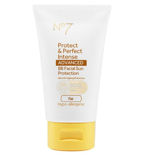 No7 Protect & Perfect Intense ADVANCED BB Facial Sun Protection SPF50 Fair 50ml