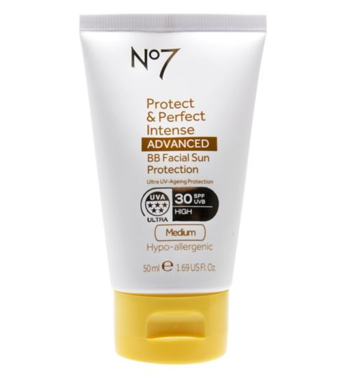 No7 Protect & Perfect Intense ADVANCED BB Facial Sun Protection SPF30 Medium 50ml