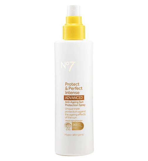 No7 Protect & Perfect Intense ADVANCED Anti-Ageing Sun Protection Spray SPF 30 200ml