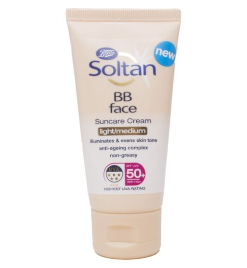 Soltan BB Face Cream SPF50+ 50ml
