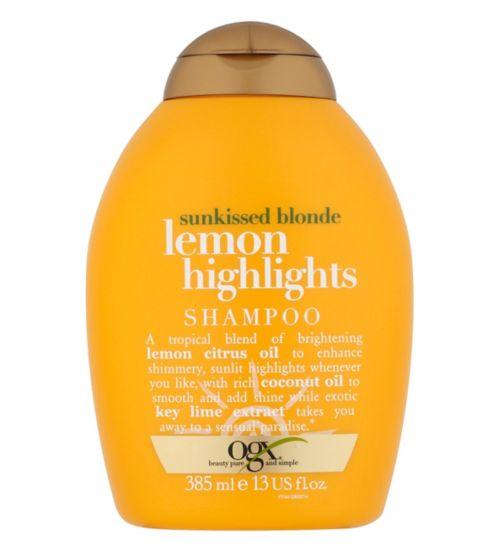 OGX Lemon Highlights Shampoo 385ml