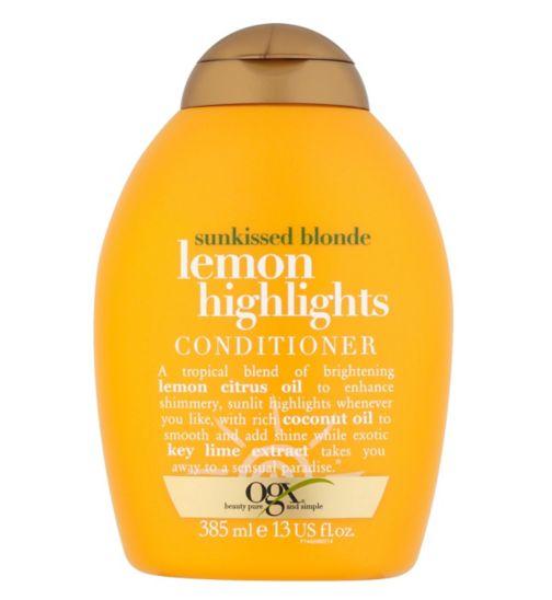 OGX Lemon Highlights Conditioner 385ml