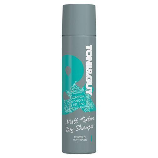 Toni & Guy Casual Matt Texture Dry Shampoo 250ml