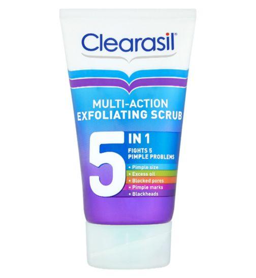 Clearasil Ultra 5in1 Exfoliating Scrub 150ml