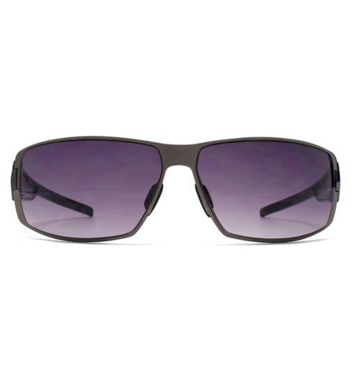 French Connection Man dark gun metal sunglasses