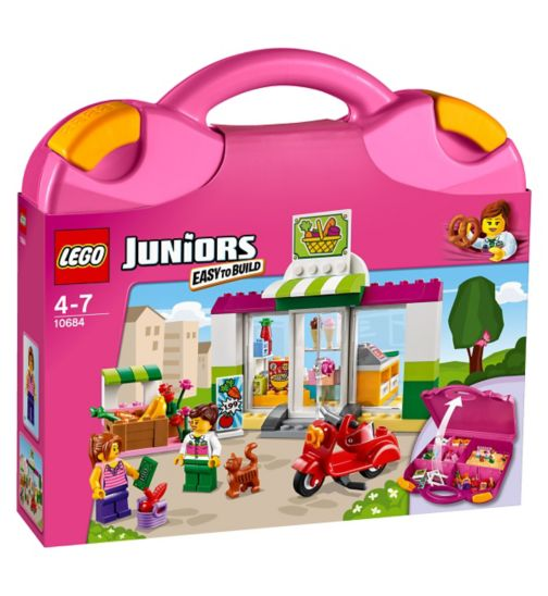 LEGO® Juniors - Shop play case 10684