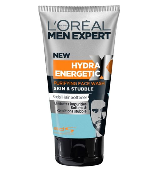 L'Oréal Paris Men Expert Skin & Stubble Purifying Wash 150ml