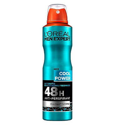 L'Oral Men Expert Cool Power 48H Anti-Perspirant 150ml