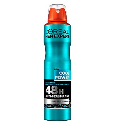 L'Oral Men Expert Cool Power 48H Anti-Perspirant 250ml