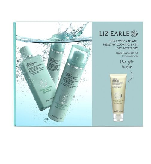 Liz Earle Daily Essentials Kit for Combination/Oily Skin