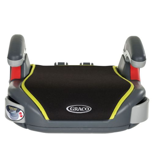 Graco Sport Basic Booster Car Seat - Grey/Lime