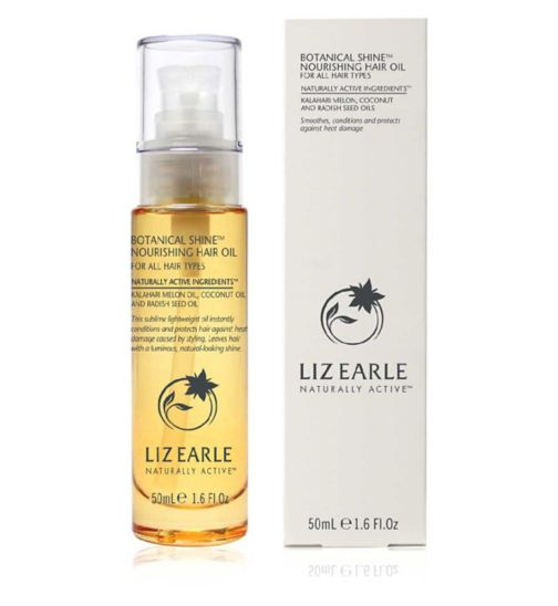 Liz Earle Botanical Shine Hair Oil 50ml