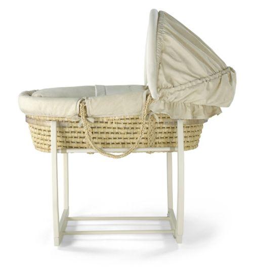 Mamas & Papas Rocking Moses Basket Stand - Ivory