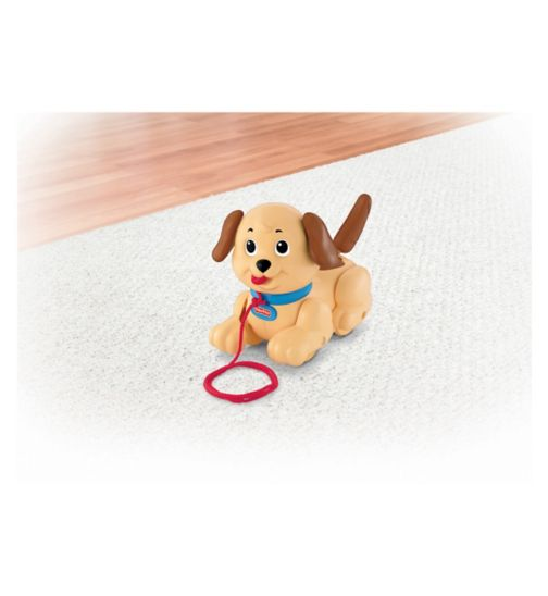 Fisher Price Lil Snoopy Pull Along Puppy