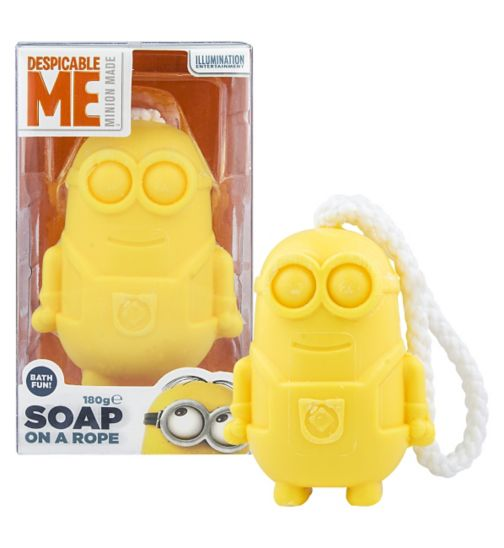 Minions Soap on a Rope
