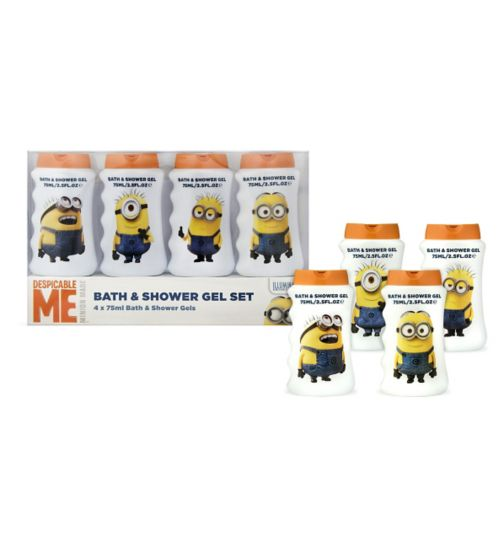 Minions Bath & Shower Gel Collection